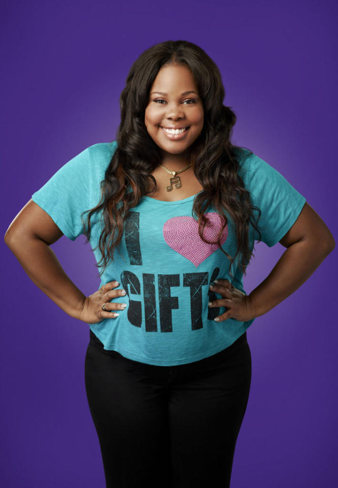 "Amber Riley as Mercedes in ""Glee."""