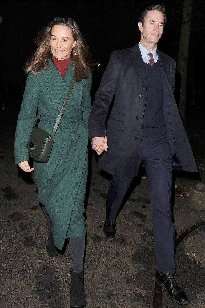Pippa Middleton (L) and James Matthews | INSTARimages.com