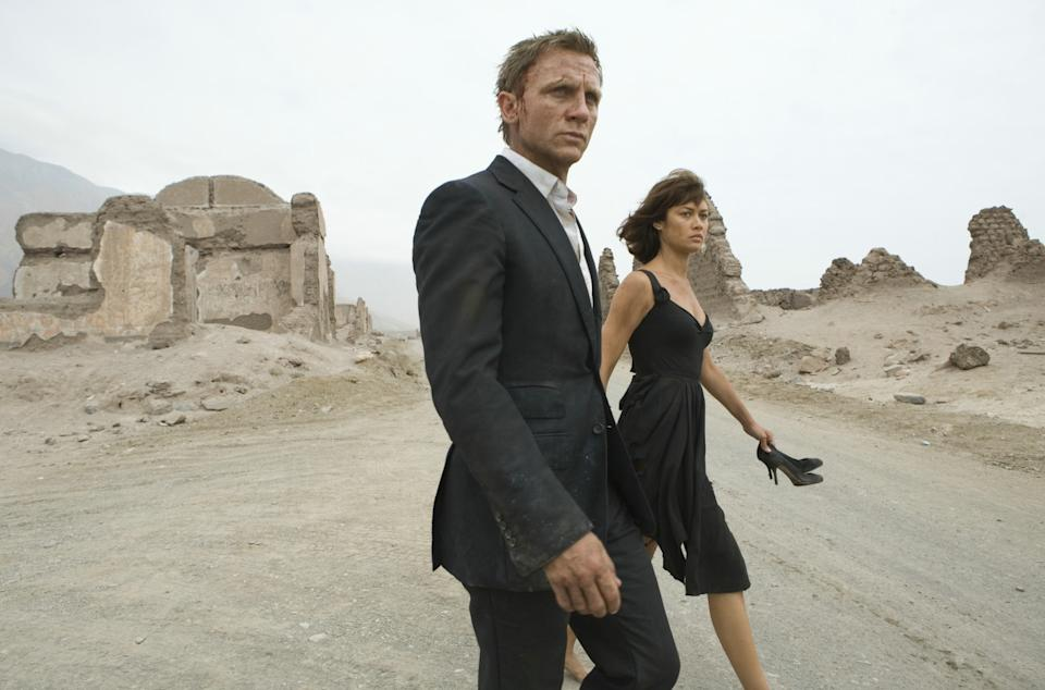 Quantum of Solace (Credit: Sony Pictures)
