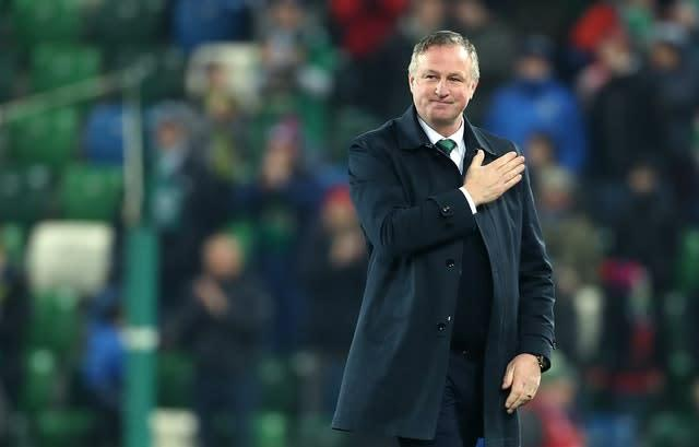 Michael O'Neill took charge of Northern Ireland in 2011 (Liam McBurney/PA)