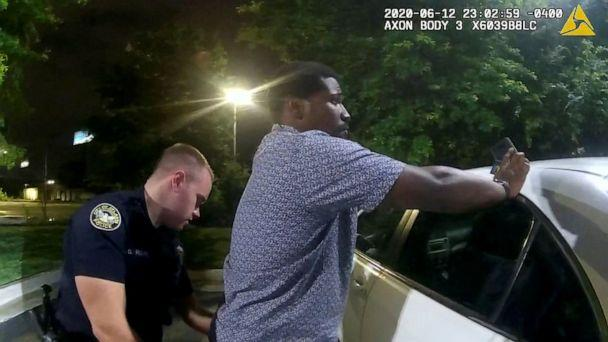 PHOTO: Frame grab from police camera footage of the arrest of Rayshard Brookes by Atlanta Police, June 13, 2020. (Atlanta Police Department via Reuters)