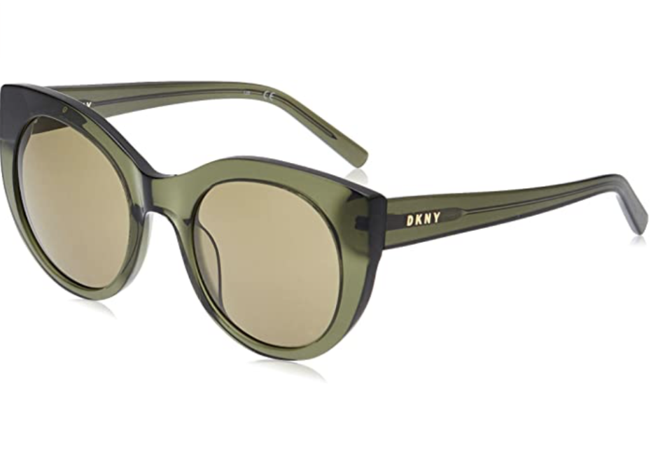 DKNY Women's Round Sunglasses in Green