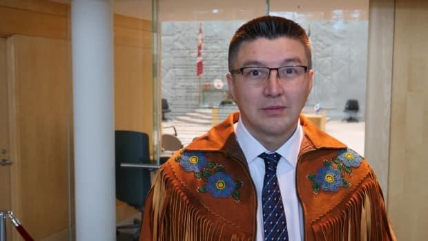 Frederick Blake Jr., Speaker of the Northwest Territories Legislature, said the two complainants dismissed the conclusions without having read two other documents prepared by the investigators but not yet released by the legislature's board of management. (Mario De Ciccio/Radio-Canada - image credit)