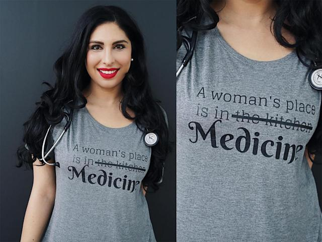 Aaliya Yaqub MD, one of the creators of the campaign. (Photo: Instagram/brit_in_the_bay)