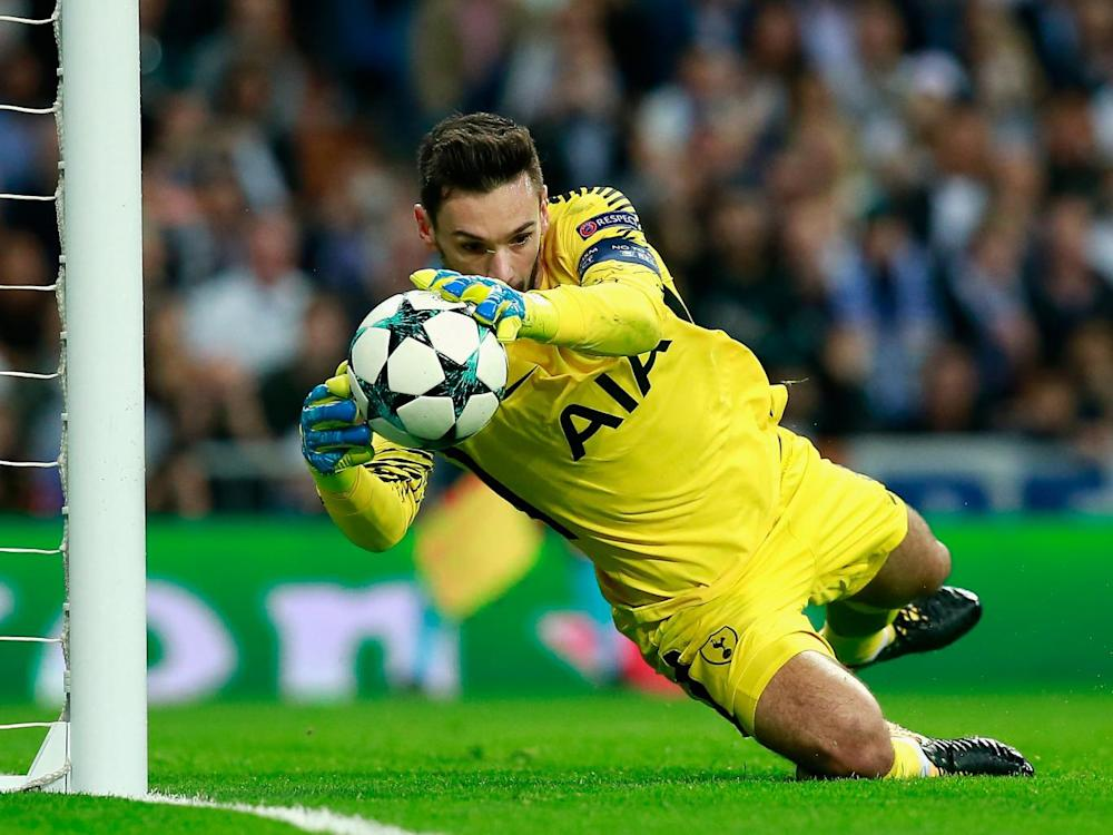 Hugo Lloris made a number of world-class stops (Getty)