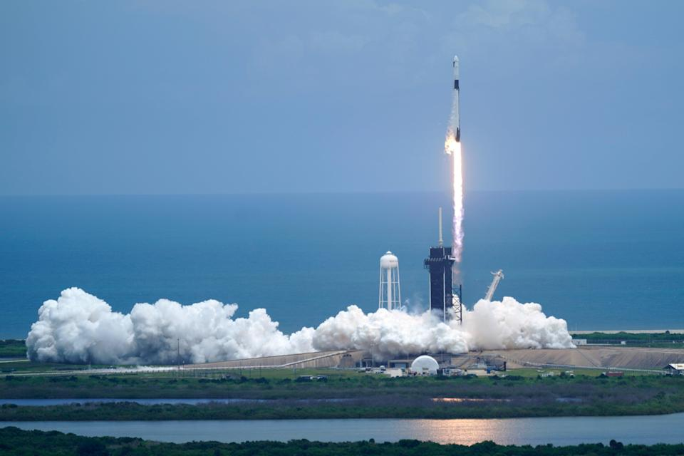 <p>Space Station</p> (Copyright 2021 The Associated Press. All rights reserved)