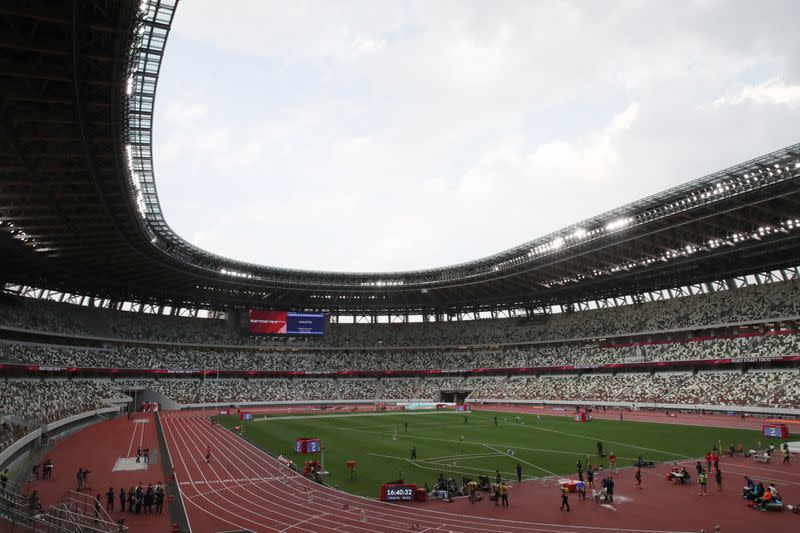 FILE PHOTO:Tokyo 2020 Olympic Games Test Event - Athletics