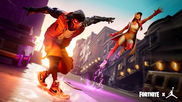 The 'Fortnite' Creative limited time mode Downtown Drop looks to have been inspired by 'Subway Surfers.'
