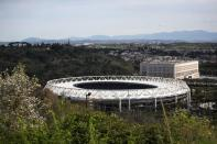 A general view of the Olympic Stadium in Rome