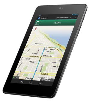 Google Nexus 7 tablet computer