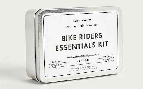 Men's Society Bike Riders Essentials Kit - Credit: Urban Outfitters