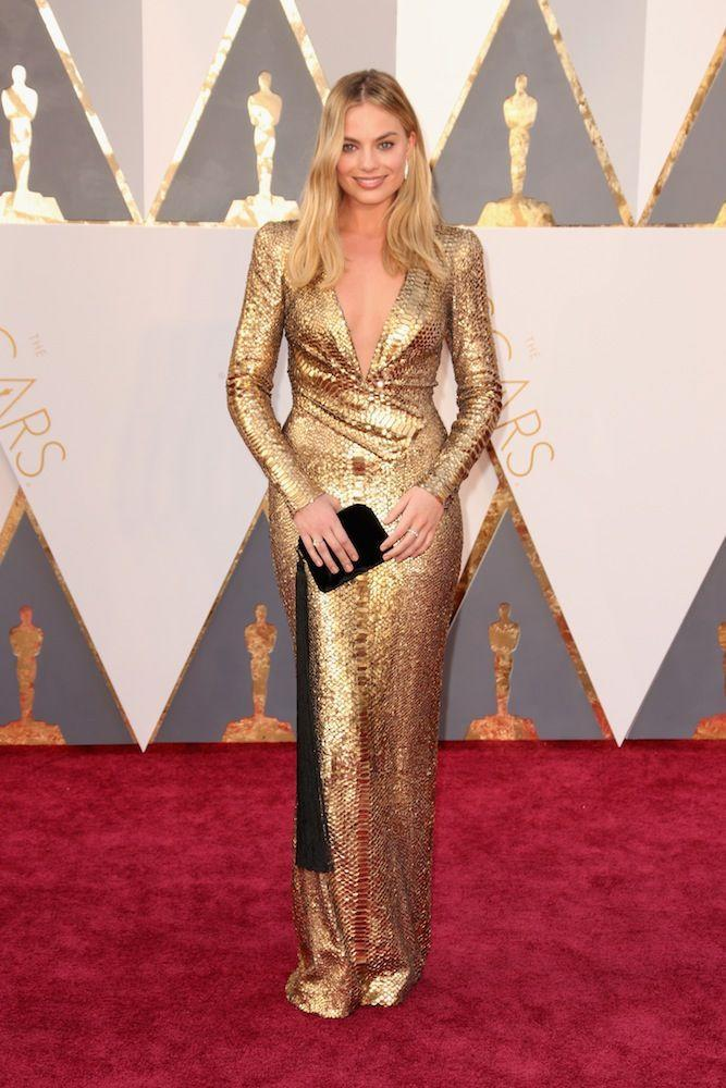<p>Wearing Tom Ford at the 2016 Oscars</p>