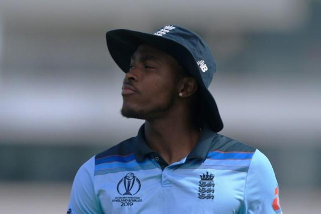 Jofra Archer has added a new dimension to England's bowling attack at the World Cup (AFP Photo/Lindsey Parnaby)