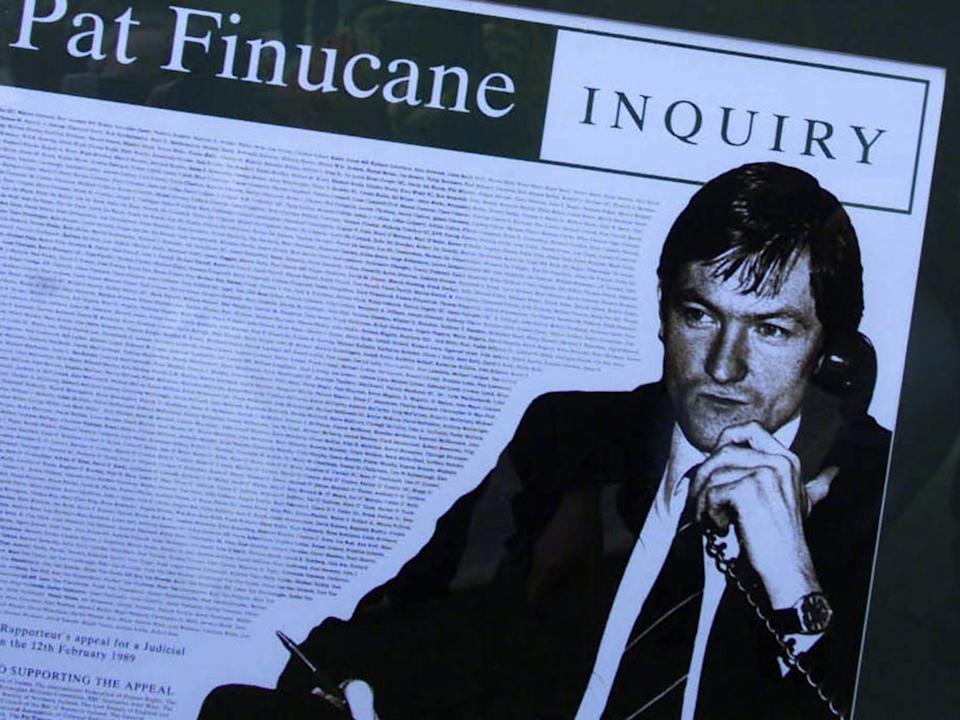 <p>Pat Finucane was gunned down in his North Belfast home</p> (PA)