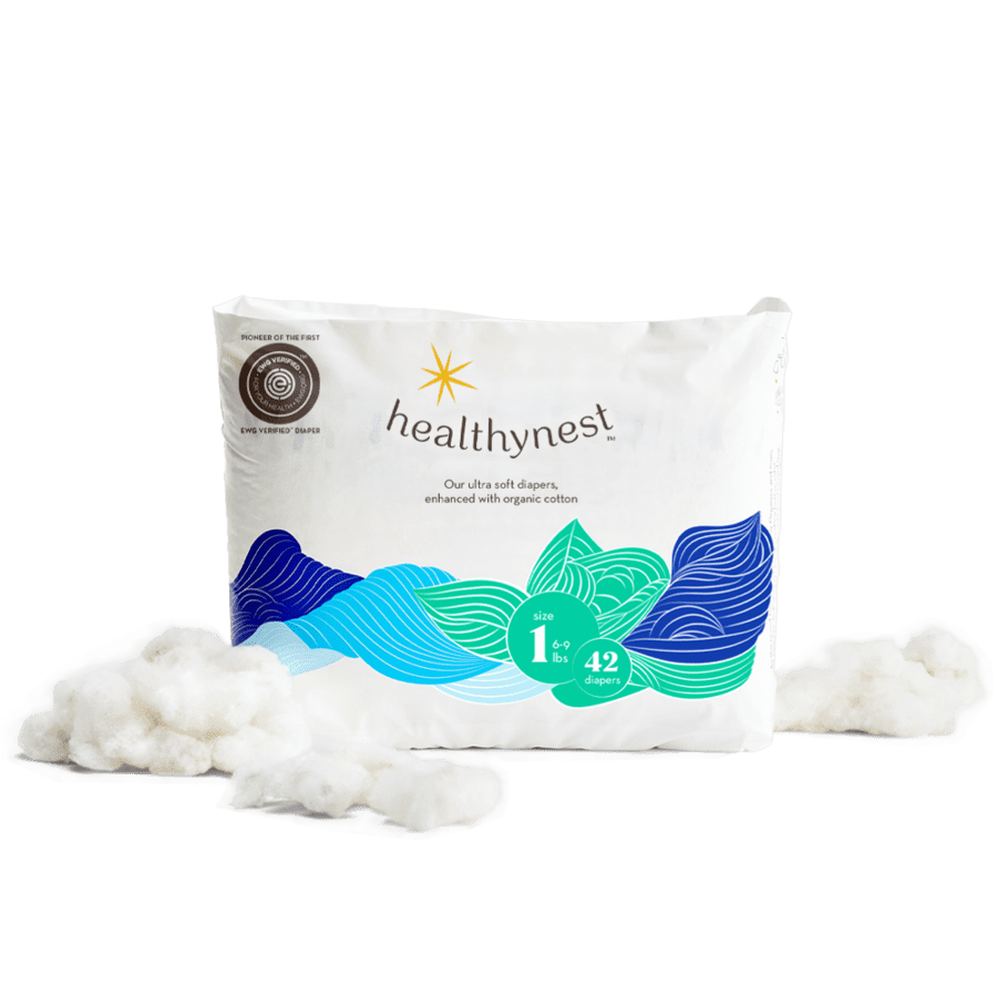 <p>Healthynest prides itself in offering sustainable, non-toxic diapers that offer your baby a soft, cozy experience. If you're new to Healthynest, the company offers a <span>trial pack</span> ($30 and up) that will allow you to test out the the food-grade quality diapers and their softness.</p>