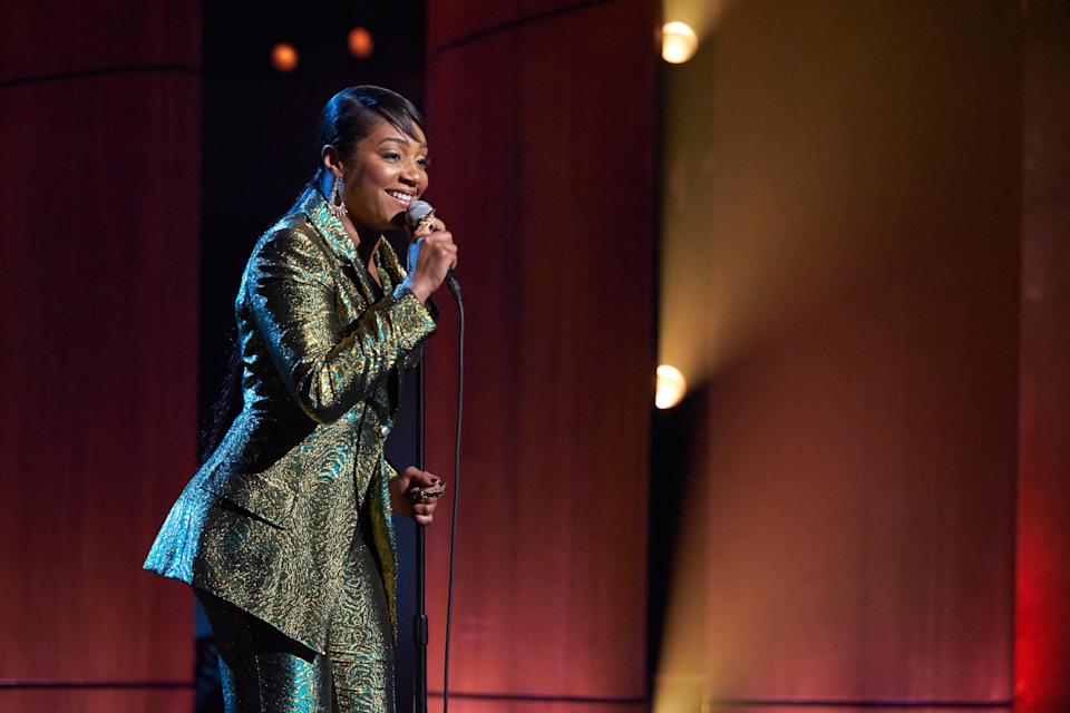 """<p>Given she is one of the funniest humans on the planet, we fully trust Tiffany Haddish to introduce us to a new batch of up-and-coming comedians in this series of half-hour stand-up specials. Another selling point? The always hilarious Wanda Sykes also produced <em>They Ready.</em> </p> <p><a href=""""https://www.netflix.com/title/81002933"""" rel=""""nofollow noopener"""" target=""""_blank"""" data-ylk=""""slk:Available to stream on Netflix"""" class=""""link rapid-noclick-resp""""><em>Available to stream on Netflix</em></a></p>"""