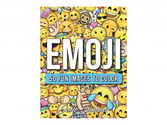 Colour in emoji scenes to pass the time on a rainy day (Amazon)