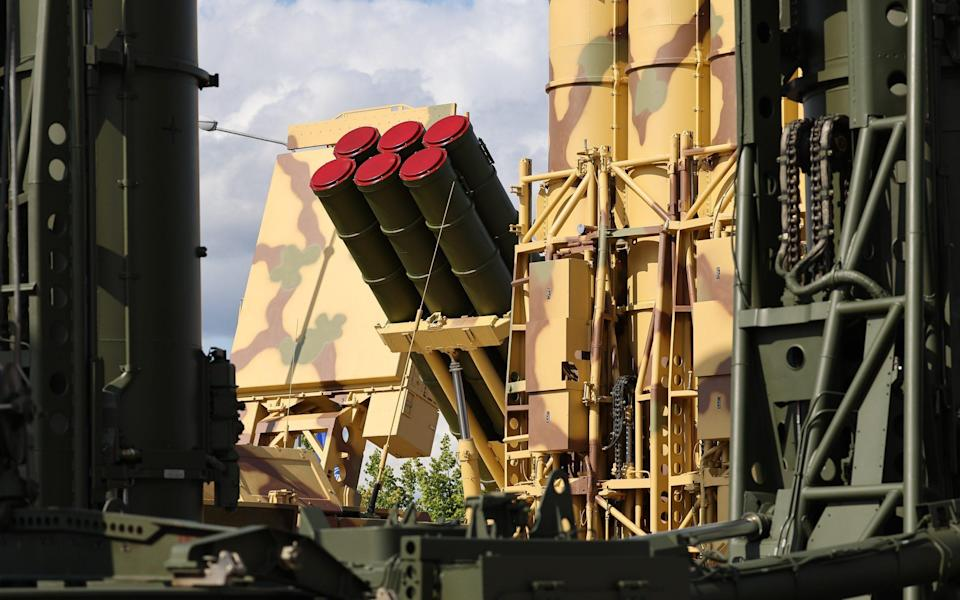 Almaz-Antey is better known for making anti-aircraft missile systems - Andrey Rudakov/Bloomberg