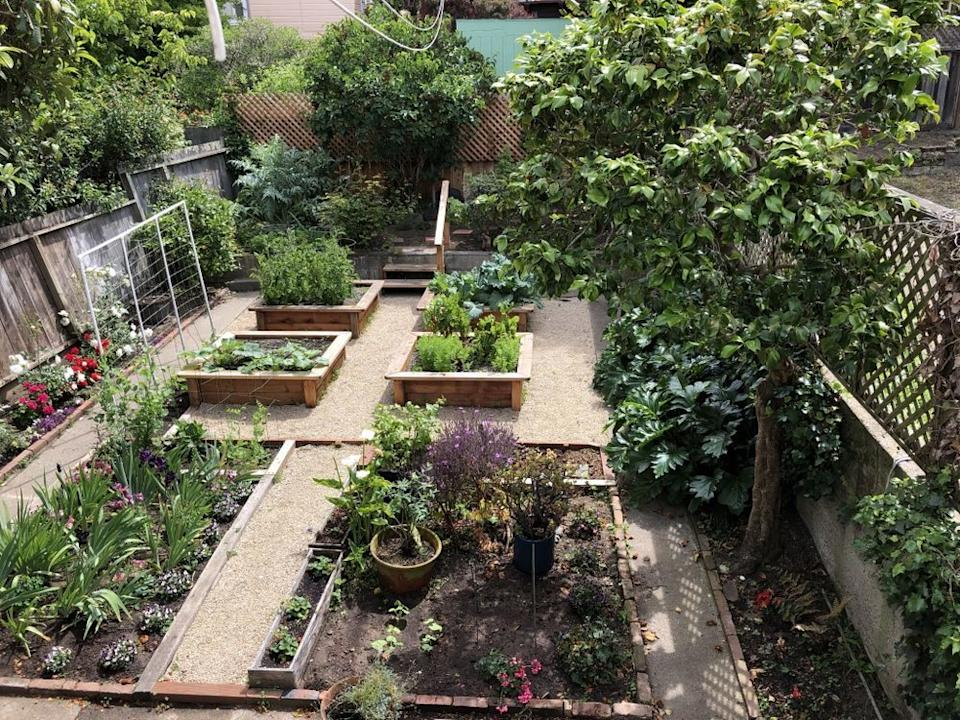 """A recent project completed by Thumbellina Gardens. 