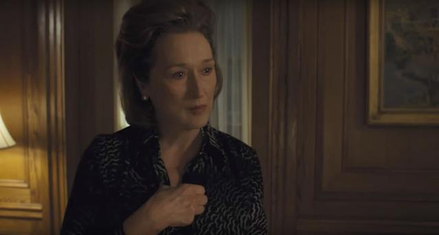 """One of the onlycontenders that hasn't yet screened for press, """"The Post""""features Hollywood's holy trinity: Steven Spielberg, Tom Hanks and Meryl Streep. The latter plays Washington Post publisher Kay Graham, faced with the tough decision of whether to publish the classified documents that exposed the American government's deceptive VietnamWar strategies. Streep's year of advocacy,starting with her anti-Trump speech at January's Golden Globes and lingering through her anti-Weinstein statement, could help her slip ahead in the race. Not that she needs it. This would mark her 21st nomination."""