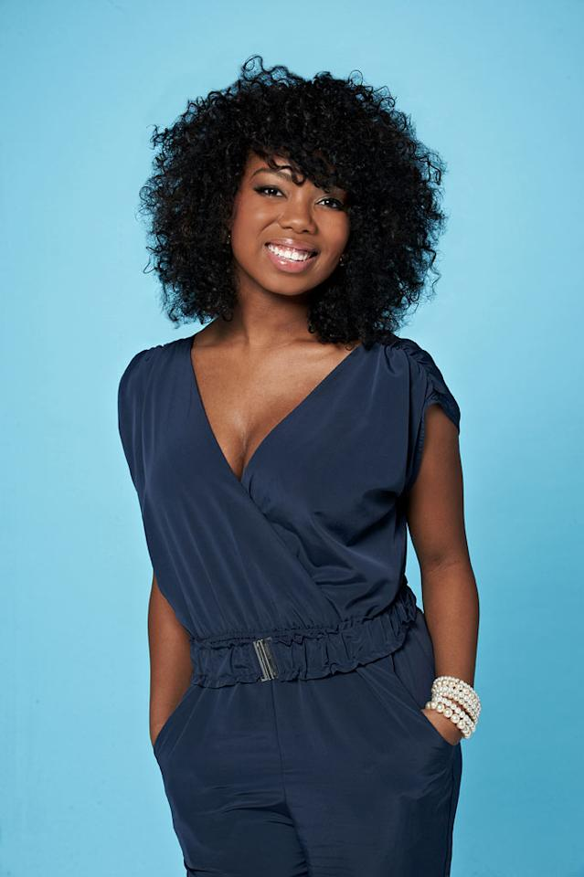 "Tatynisa Wilson, 20, from Shreveport, LA competes on the tenth season of ""American Idol."""