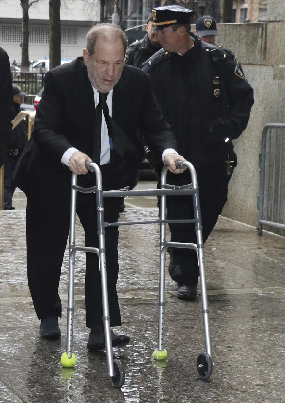 ***FILE PHOTO*** Harvey Weinstein To Face New Rape Lawsuits Including 17 Year-Old. NEW YORK, NY- January 16: Harvey Weinstein arrives for jury selection at Manhattan Supreme Court for for his trail on January 16, 2020 in New York City. Credit: RW/MediaPunch /IPX