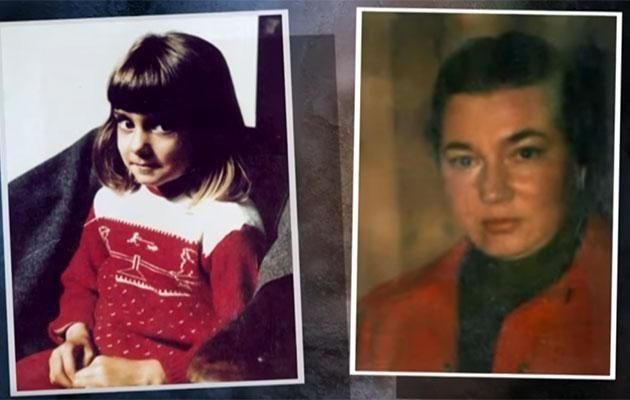 (L-R) Sinead as a child and her mother. Source: YouTube