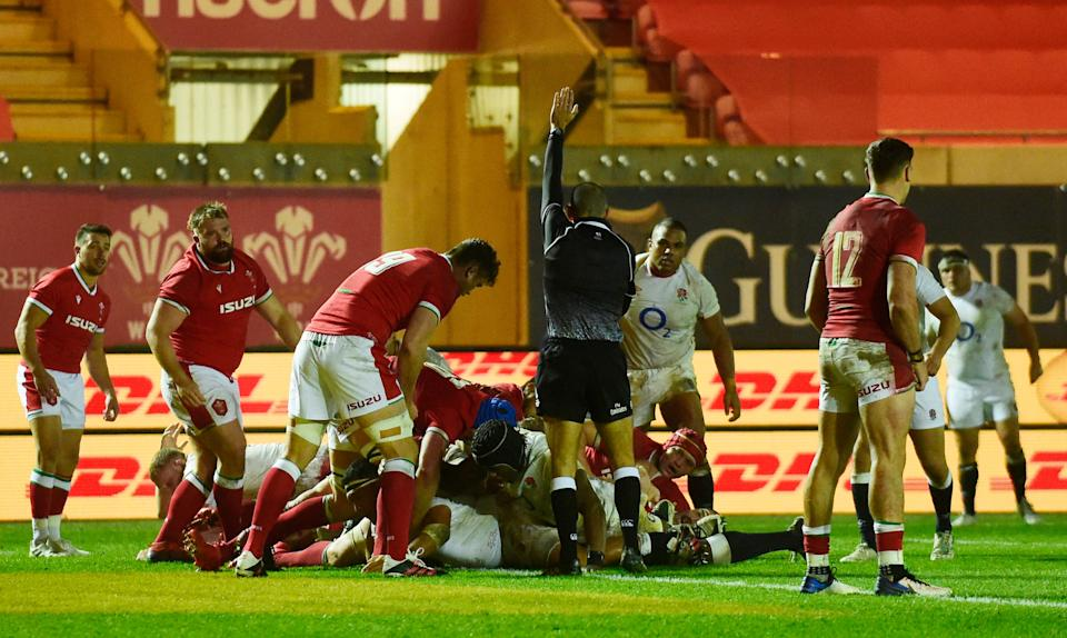 Mako Vunipola's second-half try proved too much for Wales to come back fromReuters