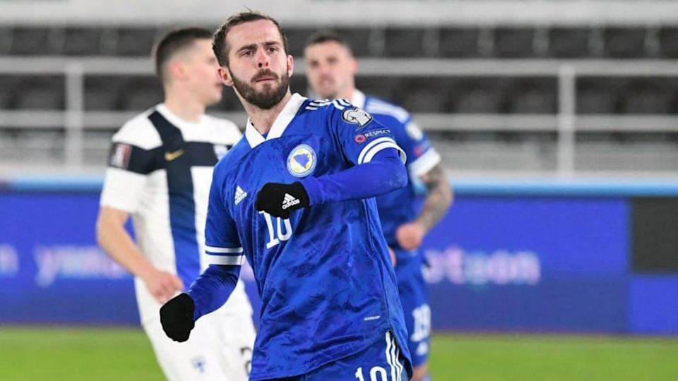 Pjanic marcó con Bosnia | JUSSI NUKARI/Getty Images