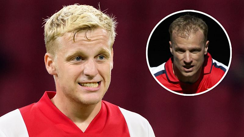 New Man Utd signing Van de Beek reveals what Arsenal legend Bergkamp keeps telling him about England
