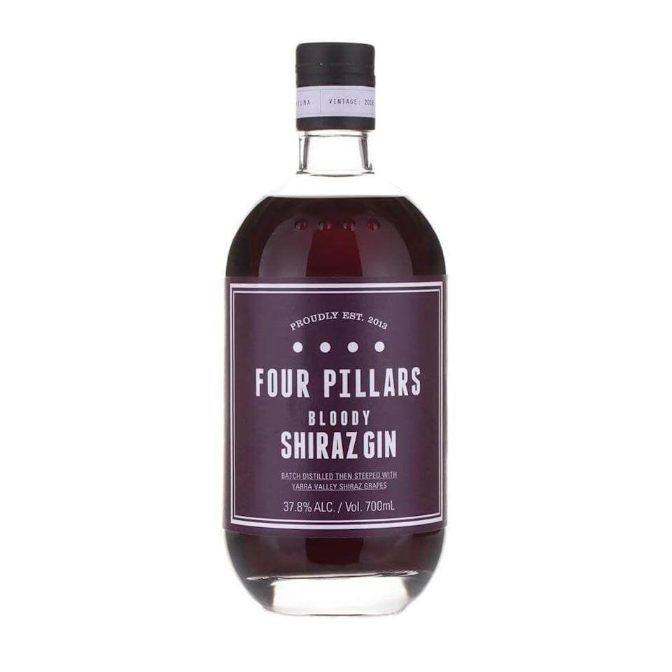 """<p>Now this gin is the result of combining the likes of red wine with gin! You can thank the Australian Distillers known as Four Pillars for dreaming up this beauty.</p><p><strong>£40.19</strong>, <strong>Master of Malt </strong></p><p><a class=""""link rapid-noclick-resp"""" href=""""https://go.redirectingat.com?id=127X1599956&url=https%3A%2F%2Fwww.masterofmalt.com%2Fgin%2Ffour-pillars-distillery%2Ffour-pillars-bloody-shiraz-gin%2F%3Fadnetwork%3Daf%26affc%3D9b949052-0d1e-43dd-8c63-c7bfb9554cbb&sref=https%3A%2F%2Fwww.delish.com%2Fuk%2Fcocktails-drinks%2Fg29069585%2Fflavoured-gin%2F"""" rel=""""nofollow noopener"""" target=""""_blank"""" data-ylk=""""slk:BUY NOW"""">BUY NOW</a></p>"""