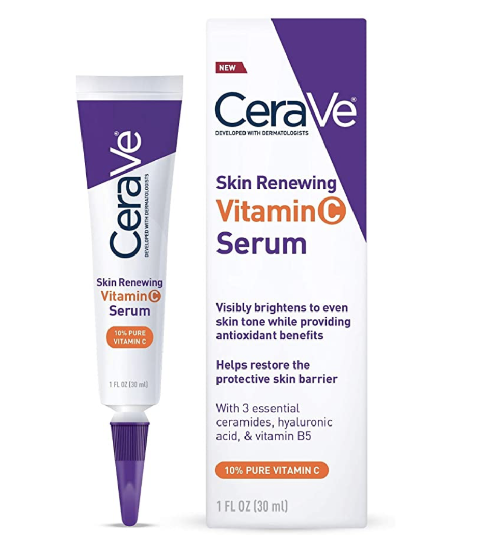 CeraVe Vitamin C Serum with Hyaluronic Acid, $40.27