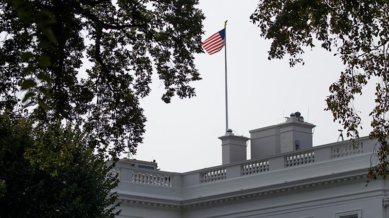 Washington The American Flags Flying At The White House Returned To Full Staff On Monday Less Than 48 Hours After The Of Sen