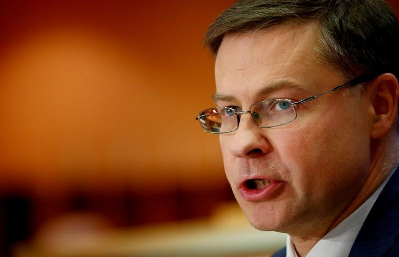 EU eyes financial stress tests over climate risks - Dombrovskis