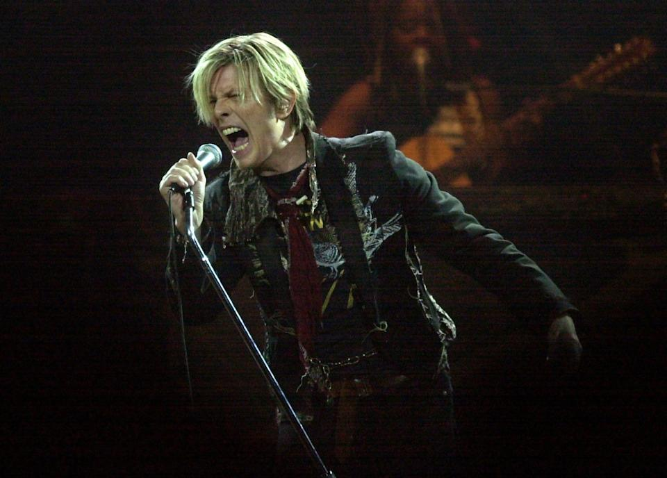 David Bowie said no to a knighthood, despite his glittering career in the music business. (MediaNews Group/Contra Costa Times via Getty Images)