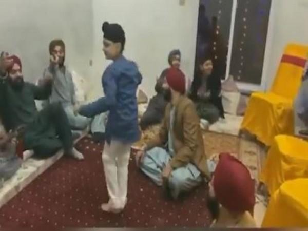 Jagraj Singh, a young boy from Pakistan's Sikh community, won the hearts of many by performing the traditional Pashtoon folk dance at a wedding in Pakistan. (Photo/Twitter)
