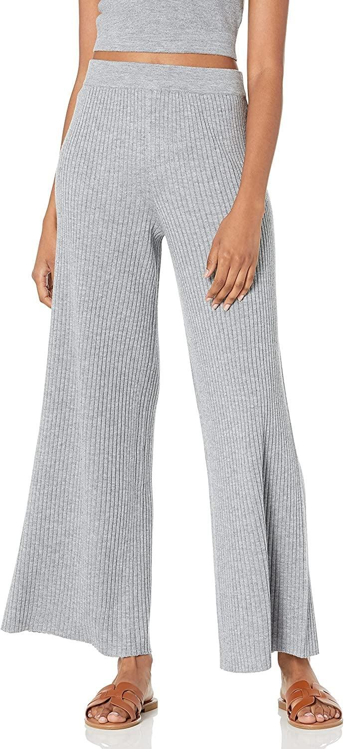 <p>Just because the world has slowly - kinda, sorta - opened up again doesn't mean loungewear is a thing of the past. In fact, I'm still finding myself spending a lot of time at home. The twist? I'm over wearing the same leggings on repeat. With a cool, flared silhouette and ribbed material, these <span>The Drop Women's Catalina Pull-On Sweater Pants</span> ($45) are the perfect solution to my latest fashion dilemma.</p>