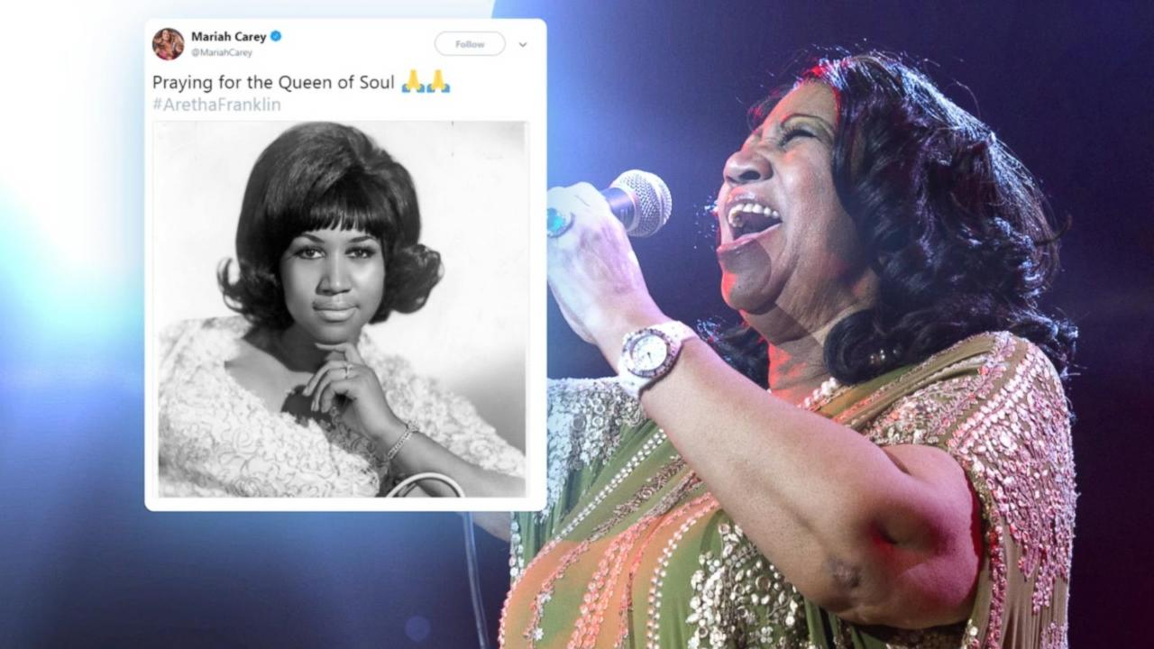 The Queen of Soul is reportedly gravely ill and surrounded by friends and family in Detroit as stars like Mariah Carey, Missy Elliott, Beyonce and Jay-Z express their support.