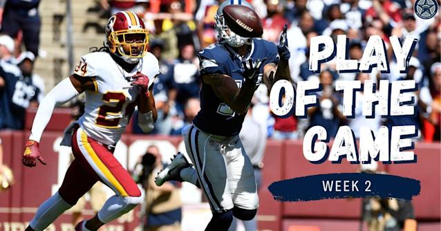 BTB Week 2 Play of the Game: Devin Smith beats Josh Norman for 51-yard touchdown