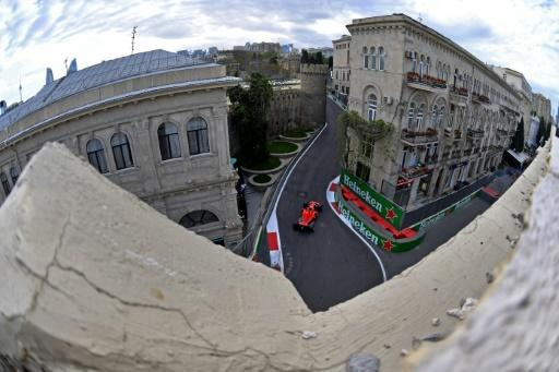 Sebastian Vettel relieved at getting away with a mistake to take pole for Ferrari in Baku