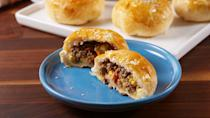 """<p>Burger bombs >>> sliders<br></p><p>Get the recipe from <a href=""""https://www.countryliving.com/cooking/recipe-ideas/recipes/a51635/bacon-cheeseburger-bombs-recipe/"""" rel=""""nofollow noopener"""" target=""""_blank"""" data-ylk=""""slk:Delish"""" class=""""link rapid-noclick-resp"""">Delish</a>.</p>"""