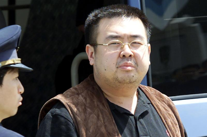 Kim Jong Nam, the estranged half-brother of North Korean leader Kim Jong Un, was poisoned at Kuala Lumpur's international airport in February last year while he was about the take a flight to Macau (AFP Photo/TOSHIFUMI KITAMURA)