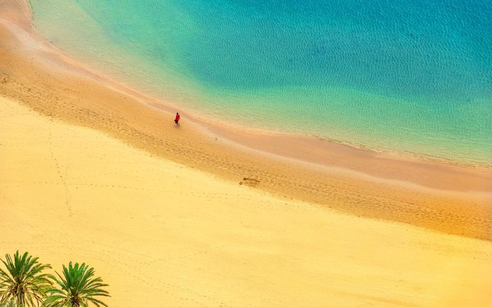 Oh to be in Tenerife - getty