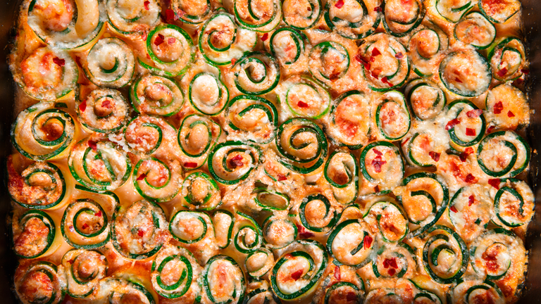 """<p>I mean, how gorgeous is this?</p><p>Get the recipe from <a href=""""https://www.delish.com/cooking/recipe-ideas/recipes/a47882/zucchini-lasagna-roll-ups-recipe/"""" rel=""""nofollow noopener"""" target=""""_blank"""" data-ylk=""""slk:Delish"""" class=""""link rapid-noclick-resp"""">Delish</a>.</p>"""
