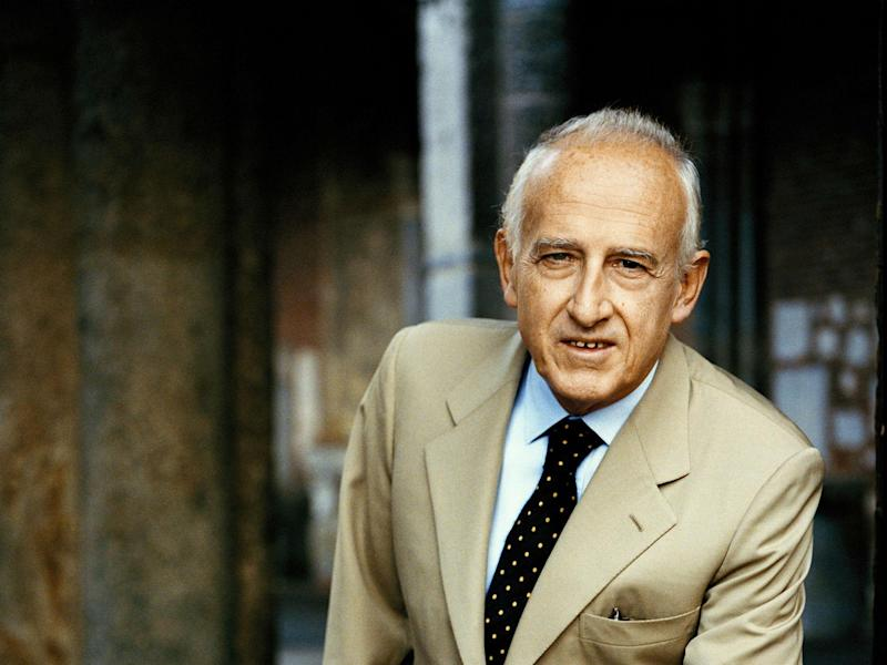 The pianist Maurizio Pollini performed at the Royal Festival Hall: Matthias Bothor