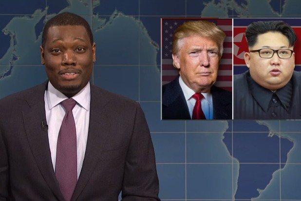 'SNL' Weekend Update Host Michael Che: Trump, Kim Jong-un Meeting Could Be 'Greatest Episode of Scared Straight Ever' (Video)