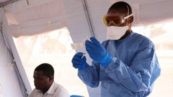 PHOTO: South Sudan begins vaccinating health workers and other front-line responders against Ebola virus disease, Jan. 28, 2019. (Andreea Campeanu/WHO)