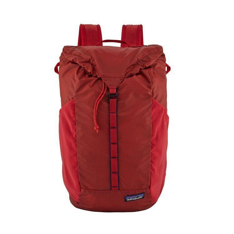 """<p><strong>Patagonia</strong></p><p>patagonia.com</p><p><strong>$79.00</strong></p><p><a href=""""https://www.patagonia.com/product/ultralight-black-hole-pack-20-liters/49045.html"""" rel=""""nofollow noopener"""" target=""""_blank"""" data-ylk=""""slk:Shop Now"""" class=""""link rapid-noclick-resp"""">Shop Now</a></p><p>A leader in sustainability, Patagonia created this pack out of 100-percent recycled nylon, with a 100-percent recycled polyester lining. These ultra-durable, yet lightweight, fabric are perfect for taking to the gym or the trail. </p>"""