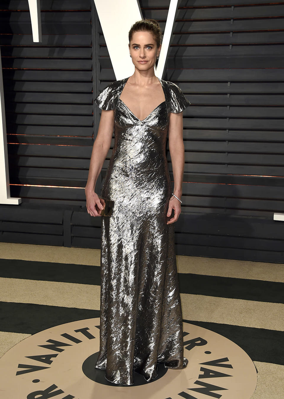 <p>Amanda Peet arrives at the Vanity Fair Oscar Party on Sunday, Feb. 26, 2017, in Beverly Hills, Calif. (Photo by Evan Agostini/Invision/AP) </p>