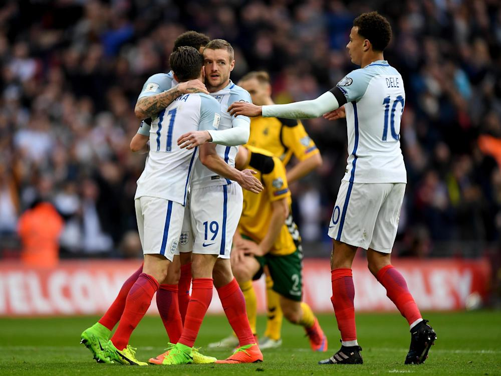 England have almost guaranteed their spot in Russia: Getty